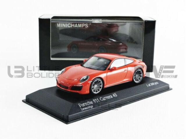 1:43 MINICHAMPS 2012 PORSCHE 911 991 Carrera 4 Coupe RARE DEALER PROMO MODEL !