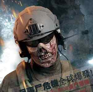 New-Military-Paintball-Half-Face-Protection-Gear-Tactical-V2-Airsoft-Zombie-Mask