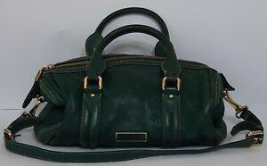 BURBERRY Green Leather Shoulder bag Bag