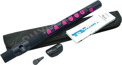 Blasinstrumente Diplomatisch Nuvo Toot 2.0 Black-pink Polymer Querpfeife Band & Orchester