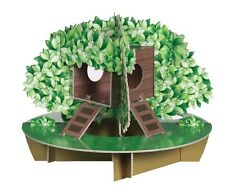 Habitrail Ovo Chewable Cardboard TreeHouse Maze Hamster