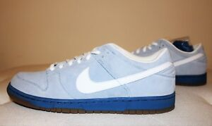 new product 9b9f9 09f94 Image is loading Nike-Dunk-Low-Pro-SB-Boarder-Blue-White-