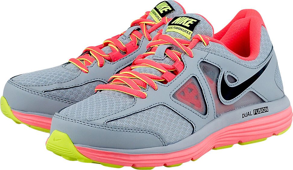 Nike Wmns Dual Punch Fusion Lite 2 Msl Grau/Hyper Punch Dual Trainers Schuhes UK 5.5_6_7 333022