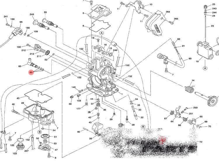 3x Fuel Joint Inlet O Ring Keihin Fcr Mx Carburetor Ktm Sxf Exc Smr
