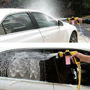 Details about Garden Nipple Hose Pipe Water Spray Foam Multi Pattern Car  Washing LC