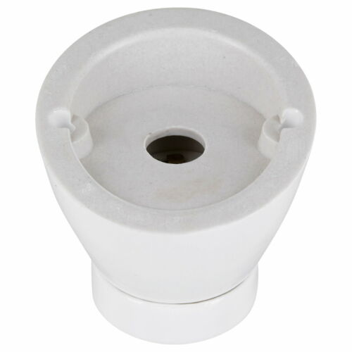 Premium construction Luminaire e27 230 v céramique porcelaine de plafond éclairage mural blanc