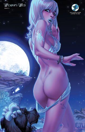 Widow/'s Web #3 BRAND NEW CVR I Eric EBAS Basaldua ltd 250 Moonlight  Exclusive