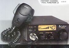 Cobra 19DX IV Mobile 40 Channel Compact CB Radio