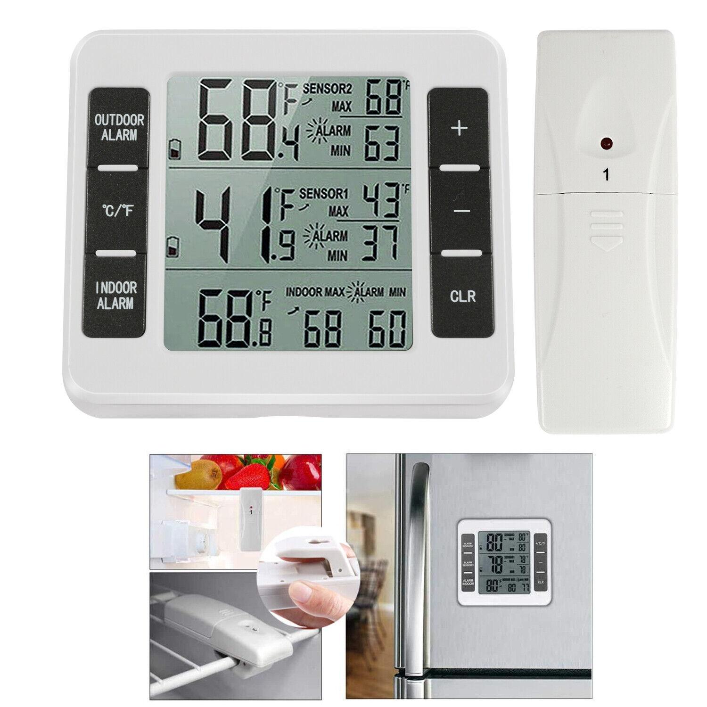Wireless ºC/ºF Thermometer Indoor Digital Temperature Sens