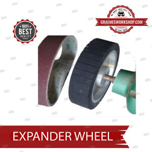 Expander Wheel Kit For Polishing Or Sanding 200 Mm X 50 Mm Ebay