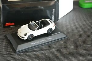 Porsche-911-Carrera-4-GTS-Cabrio-weiss-1-43-Schuco