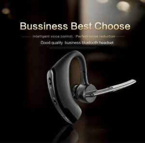 Bluetooth-Headset-Handsfree-Wireless-Earpiece-Noise-Reduction-Earbud-AU-Sell