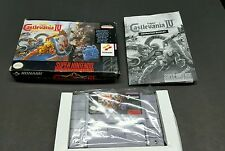 Castlevania IV 4 (Super Nintendo, SNES) Complete - HAS WEAR - See pictures