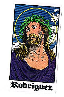 CLICHE FREE POSTAGE 101 SKATEBOARDS HERITAGE GABRIEL RODRIGUEZ JESUS STICKER