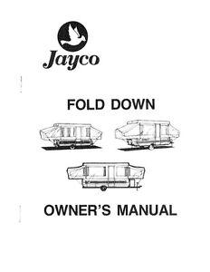 1988 jayco jay cardinal king dove thrush popup trailer owners manual rh ebay com 1993 jayco pop up camper owners manual jayco pop up camper manual