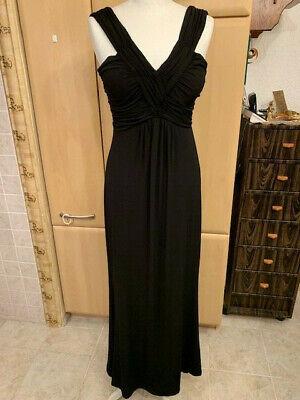 """""""biaggini""""damen Abend Kleid.robe Kleid Gr.36.schwarz.v-ausschnitt. Offensichtlicher Effekt"""