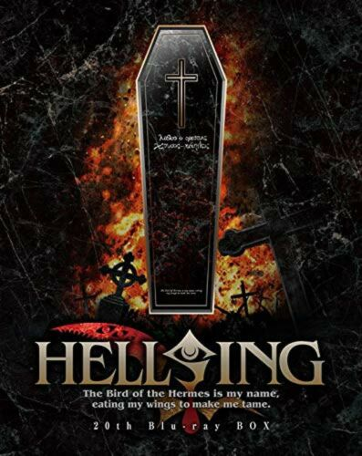 HELLSING OVA I-X Blu-ray Box Japan GNXA-1249 4988102722364 NEW from Japan F/S
