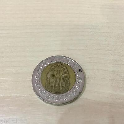 1 One Pound Coin Egypt Clear And Distinctive