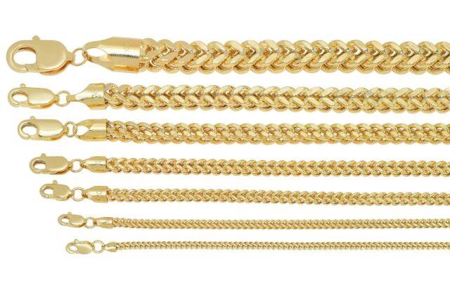 "10k Solid Yellow Gold Mariner Link Chain Necklace 1.5-6mm Men/'s Women Sz 16/""-36/"""