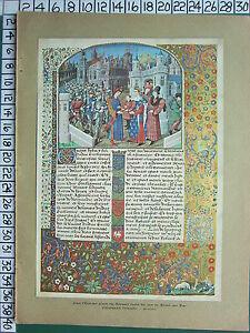 C1930 Francese Stampa L'Illustrazione Louis Oltremare Duca Revoltes Rouen