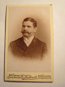 Heilbronn-Ludwigsburg-1892-Herr-Werner-Mueller-aus-Berlin-Portrait-CDV
