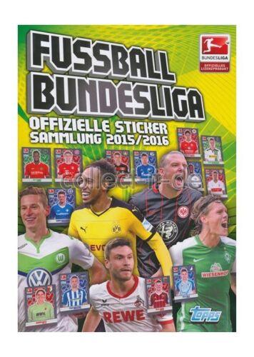 sammelsticker-album Topps Championnat 2015//16