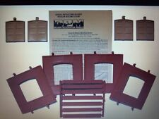 DPM Dock Level Freight Door HO Scale Building Kit Model Trains Diorama #30106
