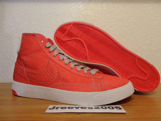 674d47a6bac0 ... SAMPLE Nike Blazer Lux RED 9 DENIM Sz 9 RED 100% Authentic Retro NSW  1cb1c1 ...