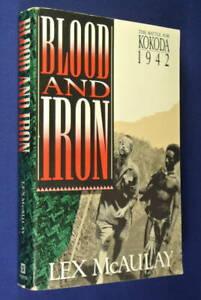 BLOOD-AND-IRON-THE-BATTLE-FOR-KOKODA-1942-Lex-McAuley-WWII-Kokoda-Track-Book