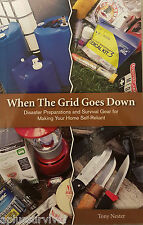 When the Grid Goes Down Diaster Preparations & Survival Gear for Self Reliance