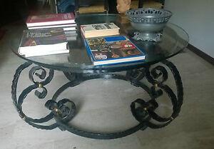 Tavolo-tavolino-ferro-battuto-cristallo-110-cm-di-diametro-iron-crystal-table