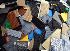 20 LEGO sottile Bundle piastra di base 4x8 4x10 6x8 6x10 6x12 misti accessori