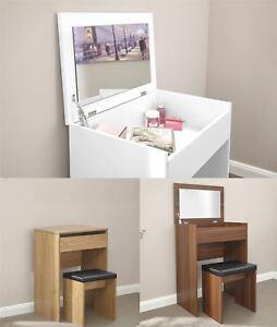 Image Is Loading Compact Dressing Table Set Unit Makeup Dresser Desk
