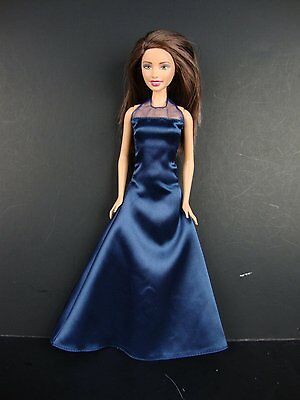 Impeccable Gown in Classic Black Made to Fit Barbie Doll