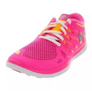 New-Girls-Nike-Free-5-0-GS-Running-Shoes-644446600-Youth-Size-7Y