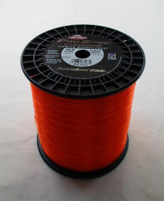 Berkley 1371750 PSC330-BO Prospec Chrome Line 30 LbTest Orange 4440 Yds 22174