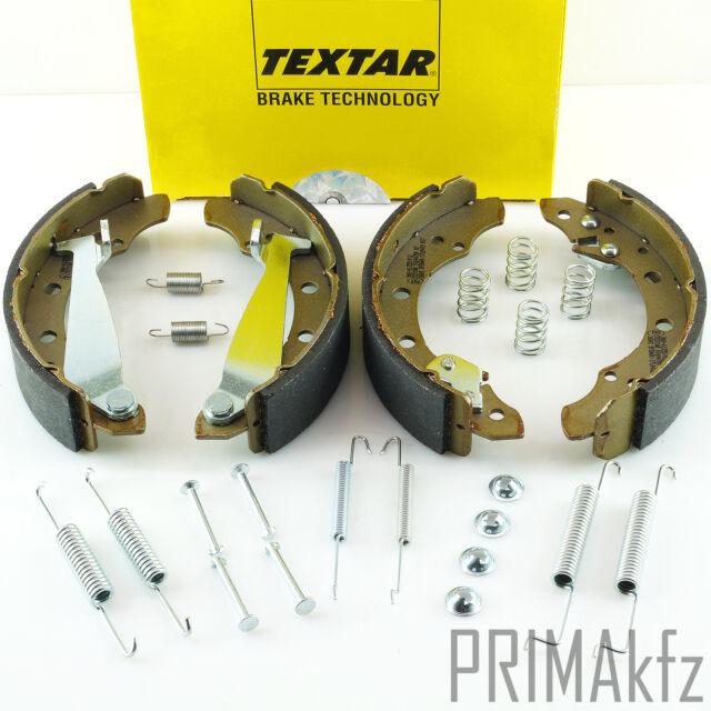 TEXTAR Bremsbacken Satz mit Zubehörsatz VW Golf III Fox Lupo Polo /91044700