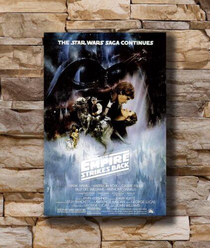 Hot star-wars-episode-v-empire-strikes-back-1980 New Art Poster 24x36 T-2096