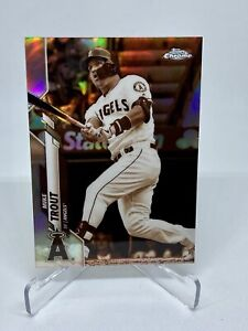 2020 Topps Chrome Baseball - Mike Trout Sepia Refractor 🔥 ANGELS