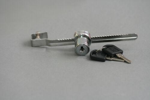 Sliding Glass Door Ratchet showcase Lock Keyed Alike Display Retail C470T-610