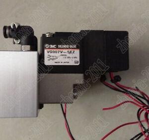 1PC Used SMC solenoid valve VO307V-5EZ