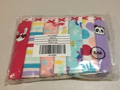 NWT Gymboree Girls Panties Underwear 7pair 7 days of the week xxs XS,S,M