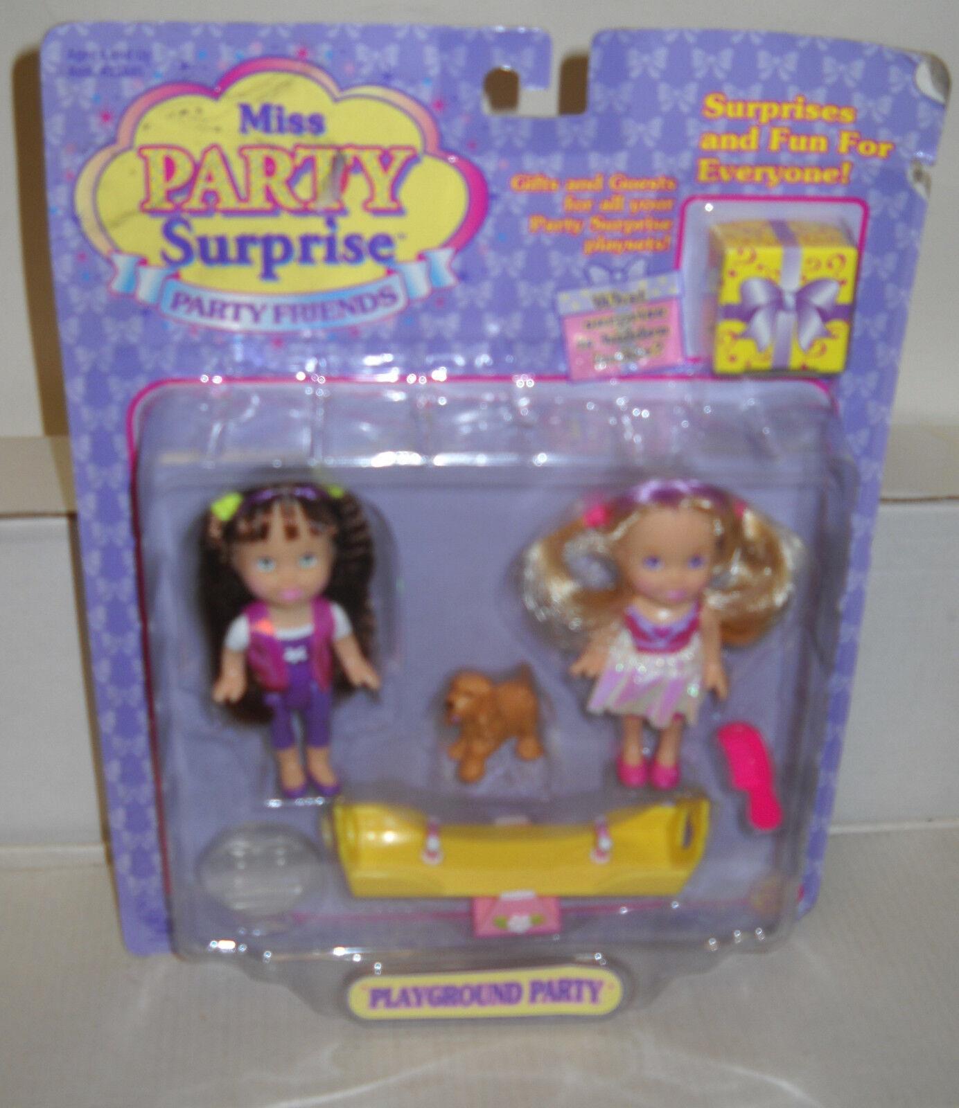 Raro nrfc Toy Biz Miss fiesta fiesta sorpresa muñecas Amigos Parque Infantil Fiesta