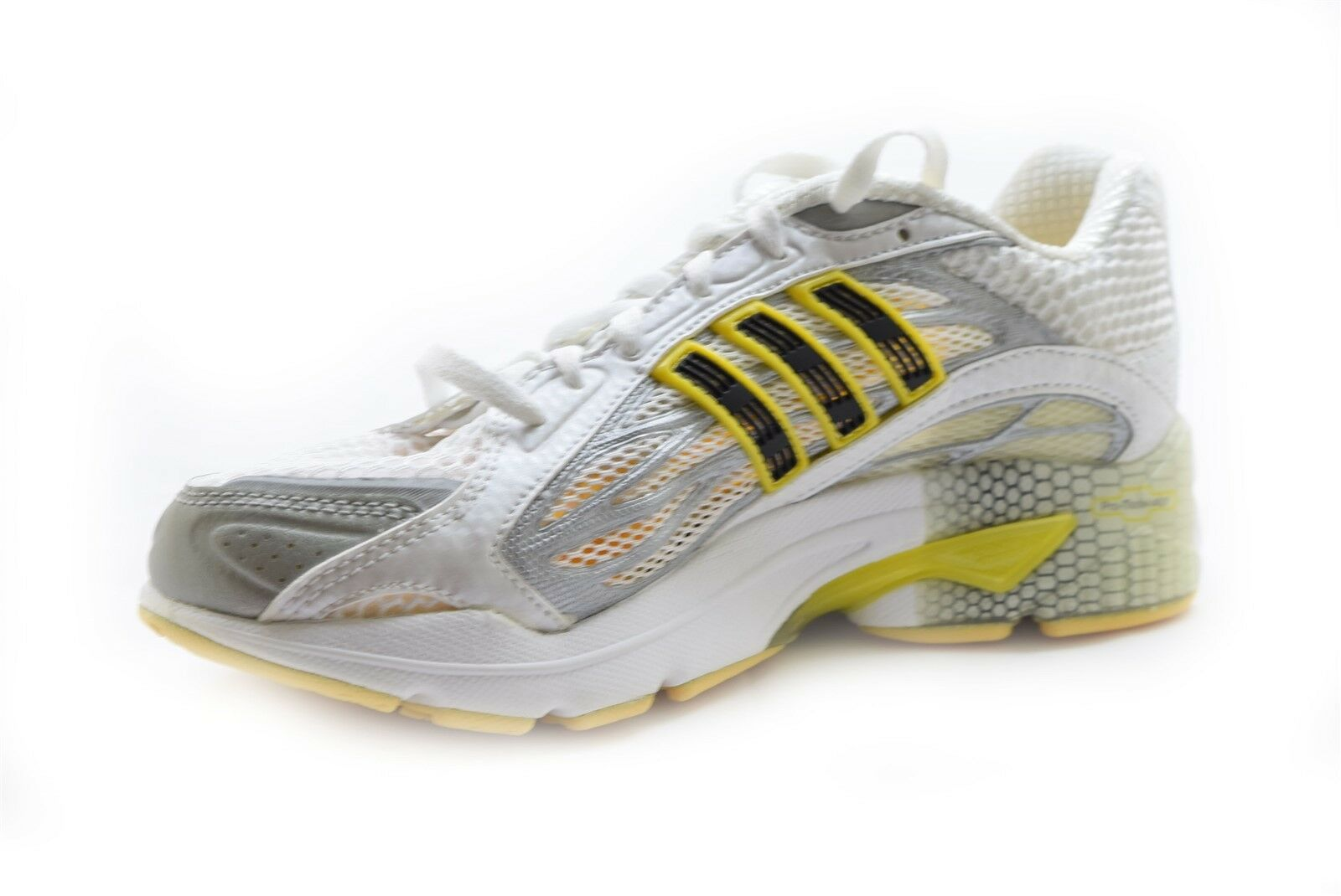 Adidas Women's CC redterdam Running shoes White Yellow Black Size 6 - NIB