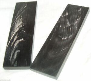 2-Buffalo-Streaked-Horn-Knife-Scales-6x1-75x3-8-Knife-Grips-Horn-Eyeglass-Frames
