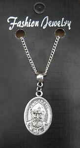 "18"" or 24 Inch Chain Necklace & St Charbel Pendant Charm Saint Sharbel Makhluf IZ8UMjw9-09160601-377262889"