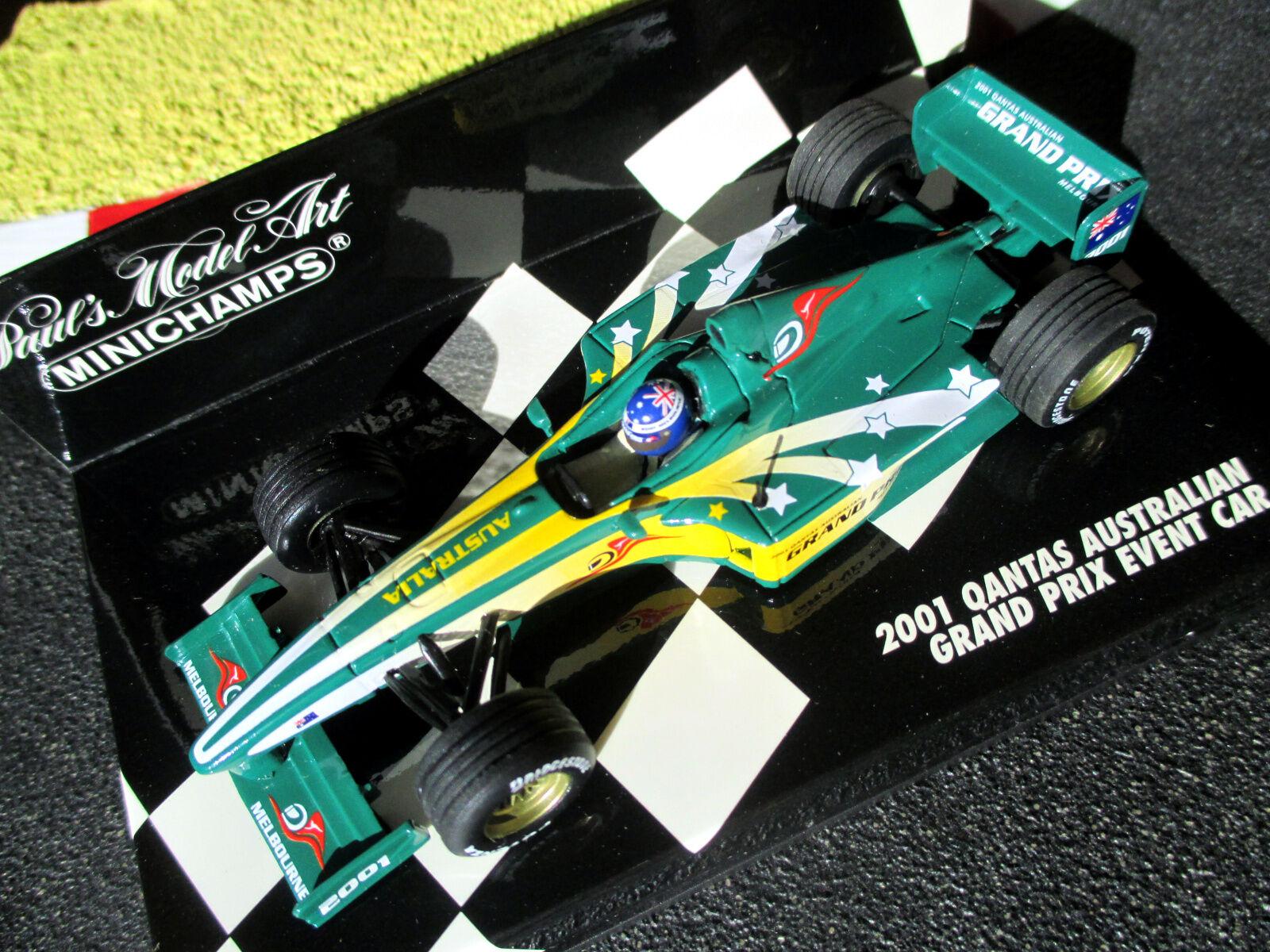 1 43 quanta Australian Grand prix Event voiture 2001 Minichamps  ac4 010300 OVP  design unique