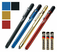 Streamlight Stylus Led Penlight Slim - Gold Red Blue Or Black W/ 3 Extra Aaaa