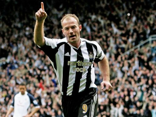 Iconic English Footballer Newcastle Wall Framed Canvas Pictures Alan Shearer