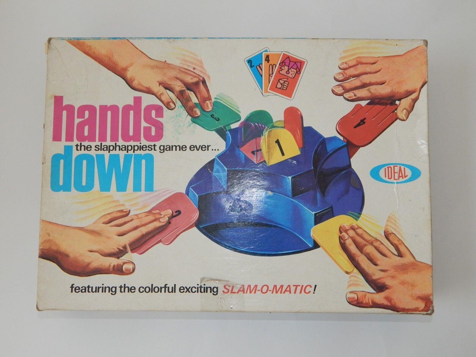 Vintage 1965 las manos hacia abajo juego de mesa ideal Completa Excelente Estado R18196